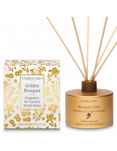 Golden Bouquet Fragrance for Scented...